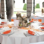 Marque table chevalet