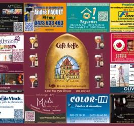 Sets de table publicitaires