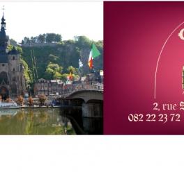 Cartes de visite pliables: Imprimer vos cartes à Dinant > 082/22.65.50