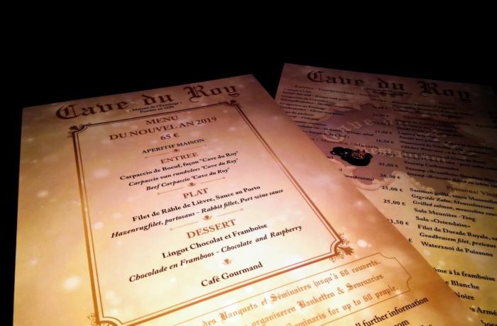 Réalisation  de menus